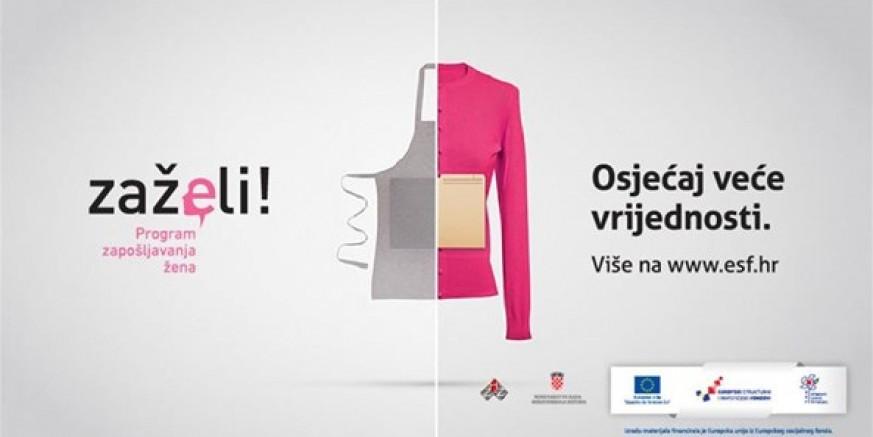 PROJEKT ZAŽELI Iz EU fondova odobreno 644.235 kuna za zapošljavanje 7 žena starijih od 50 godina