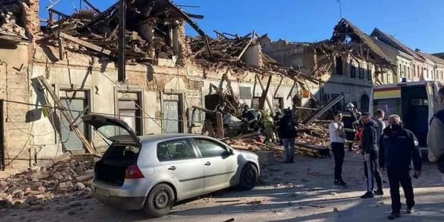 STOŽER CZ I CRVENI KRIŽ Ne organizirajte samoinicijativno humanitarne akcije za potresom pogođena područja!