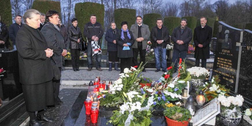 Obilježavanje 24. obljetnice pogibije redarstvenika Stjepana Vusića