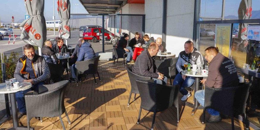 NAKON TRI MJESECA I ivanečke ugostiteljske terase ispunili gosti željni druženja uz kavu