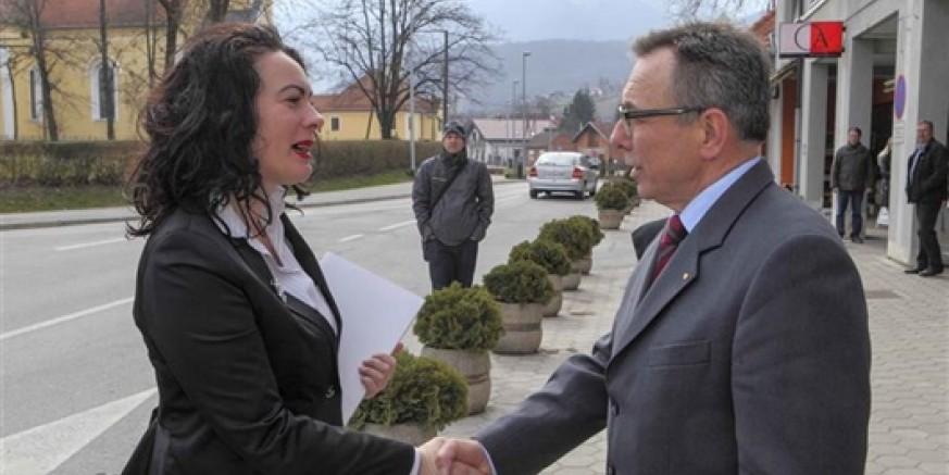 Makedonska veleposlanica Daniela Karagjozoska u službenom posjetu Gradu Ivancu - dogovorena suradnja s ivanečkim gospodarstvenicima