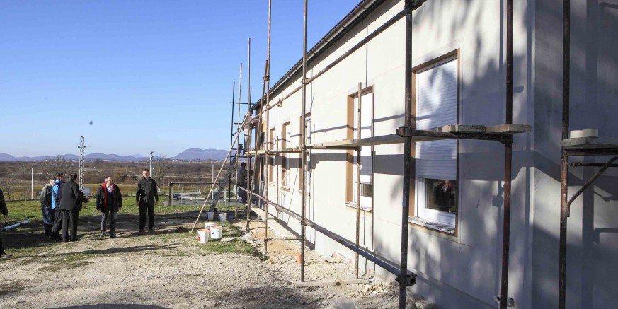 Gradski čelnici obišli gradilišta u mjesnim odborima Ivanečka Željeznica i Stažnjevec