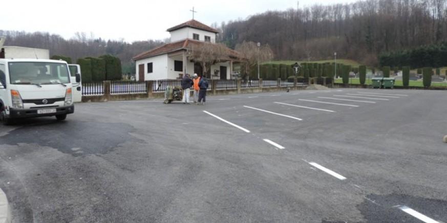 Na novom parkiralištu u Radovanu iscrtano 31 parkirališno mjesto
