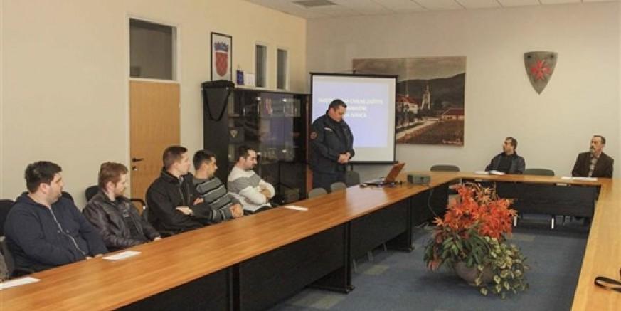 Izvršeno smotriranje tima Civilne zaštite opće namjene Grada Ivanca