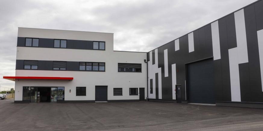 INDUSTRIJSKA ZONA BGW Group useljava u novu halu vrijednu 2 mil. eura, grupacija zapošljava 150 radnika