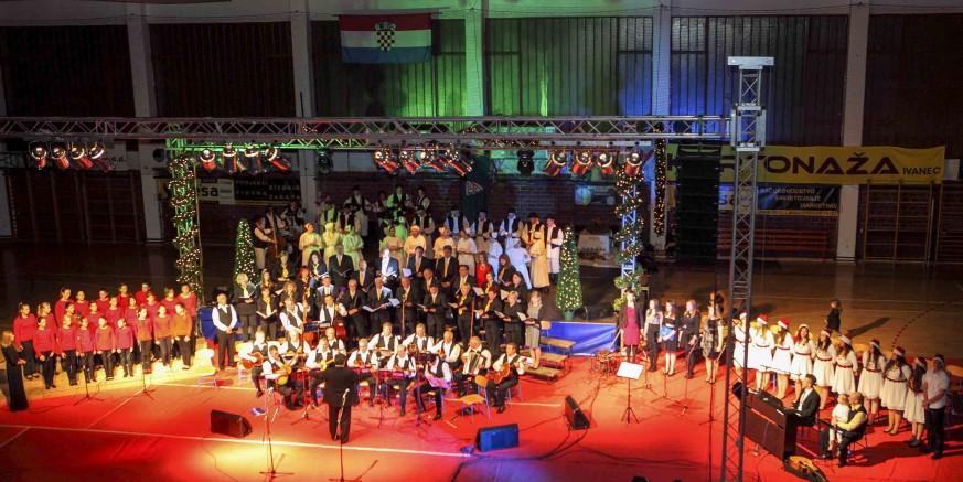 Grad Ivanec u suradnji s gradskim KUD-ovima i solistima u nedjelju, 27. prosinca, priređuje Božićni koncert