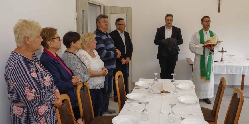 Blagoslovom prostora i simbolično označen završetak gradnje i uređenja društvenog doma Vuglovec-Gečkovec