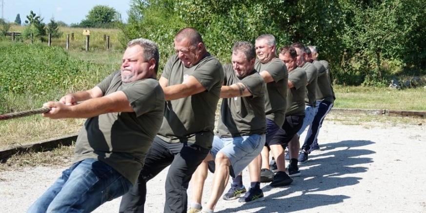 UZ POTPORU GRADA IVANCA I POSLOVNE ZONE Ivanečki dragovoljci na 26. županijskim sportskim susretima