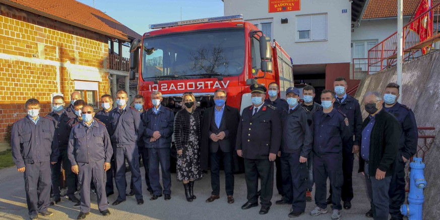 GRADSKO VIJEĆE Odluka o ulaganju u rekonstrukciju vatrogasnog doma i gradnju pomoćne zgrade DVD-a Radovan