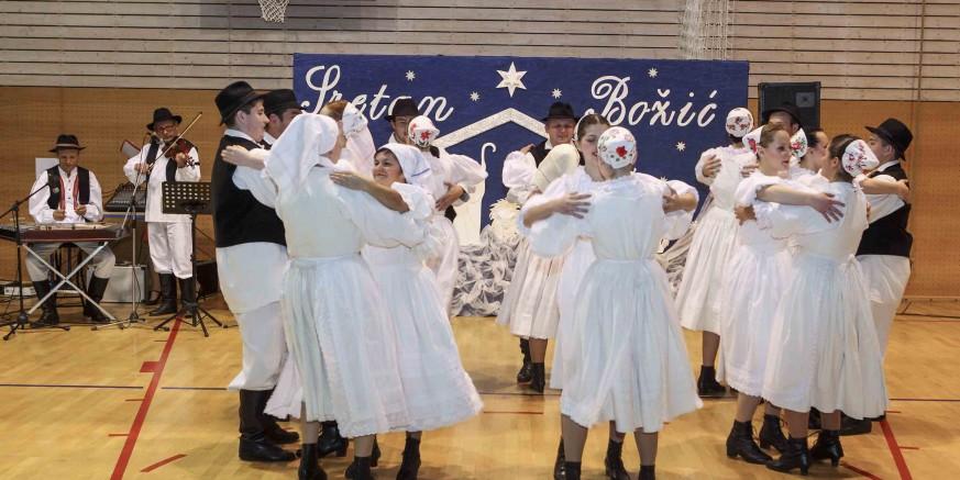 Gradske udruge: Veliki božićni koncert KUD-a Salinovec
