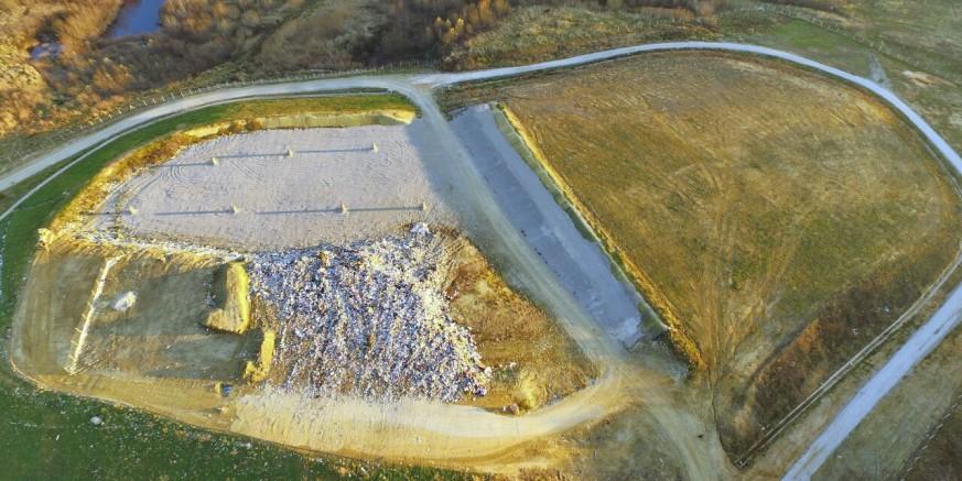 Odlagalište u Jerovcu: U sanaciju i sustav novog zbrinjavanja uloženo 12,5 milijuna kuna