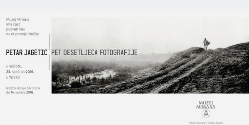 """Poziv na izložbu """"Petar Jagetić: Pet desetljeća fotografije"""""""