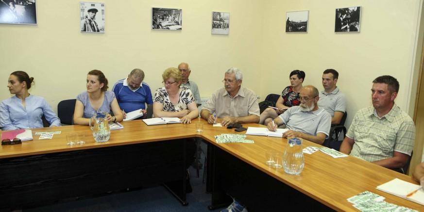 Sastanak sa svim udrugama civilnog društva u Gradskoj vijećnici Ivanec u srijedu, 20. siječnja