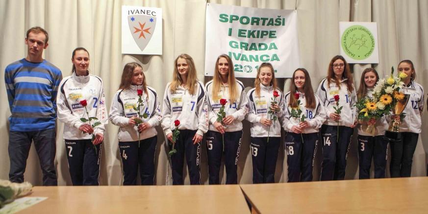 Na svečanosti Zajednice sportskih udruga grada Ivanca proglašeni najbolji sportaši u 2015.