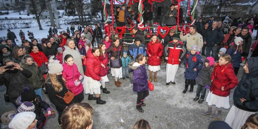 """Manifestacija """"Tičeki se ženiju"""" u gradskom parku 14. veljače, s tortom od 10 metara"""
