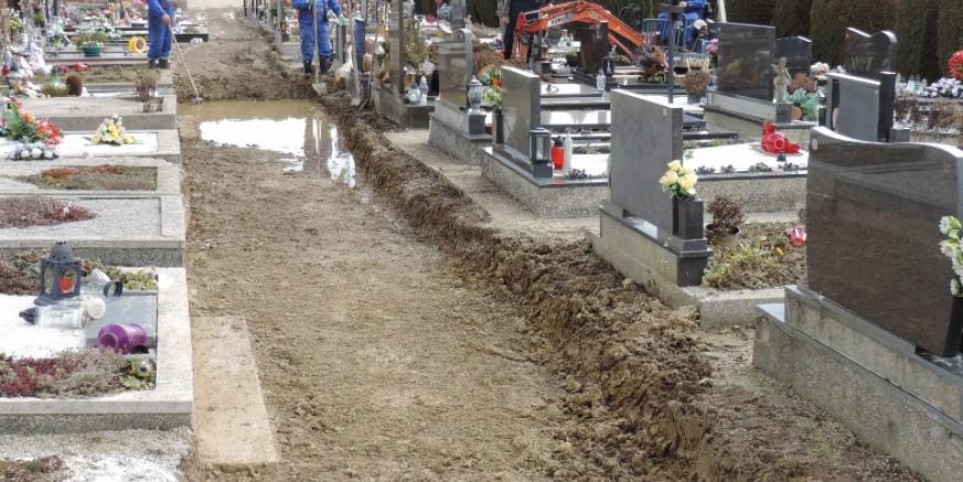 Počeli su pripremni radovi na uređenju groblja u Margečanu