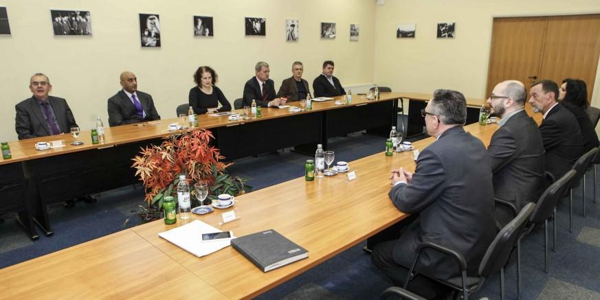 Grad Ivanec organizirao sastanak ivanečkih poduzetnika s indijskim veleposlanikom Sandeepom Kumarom