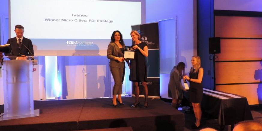 Gradu Ivancu u Cannesu uručena pobjednička nagrada Financial Timesa