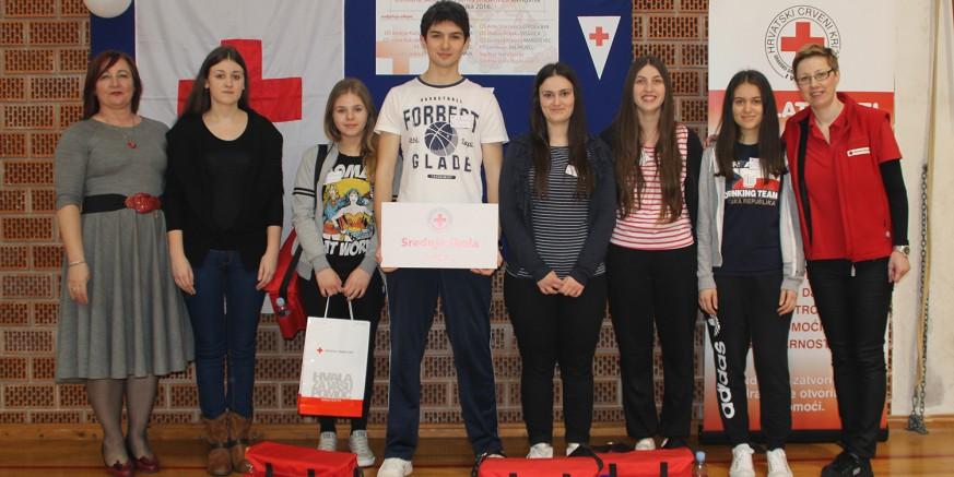 14. gradsko natjecanje ekipa prve pomoći: Prvo mjesto ekipi Srednje škole Ivanec